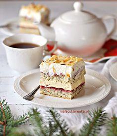 Kliknij, by zamknąć Polish Desserts, Polish Recipes, Baking Recipes, Cookie Recipes, Dessert Recipes, Good Food, Yummy Food, Fashion Cakes, Brownie Cake