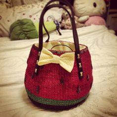 Watermelon handbag from Samantha Vega   | Flickr - Photo Sharing!