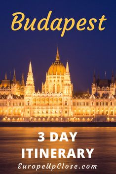 What to do in Budapest | 3 Day in Budapest | Budapest Itinerary | Things to do in Budapest | Budapest Travel | Budapest Food | Budapest Things to do | Hotels in Budapest #budapest #travel #europe