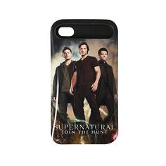 Supernatural Trio iPhone 4/4S Case | Hot Topic ($12) ❤ liked on Polyvore featuring accessories, tech accessories, phone cases and supernatural