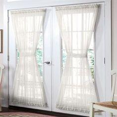 BrylaneHome® Studio Sheer Voile Door Panel | Plus Size Sheer Curtains | OneStopPlus