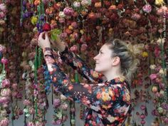 Floral designer Rebecca Louise Law