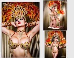 Showgirl Headdress | Samba Headdress