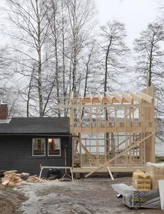 time of the aquarius: Cottage BUILDING PROJECT / week 3