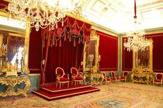 Salón del Trono del palacio real de Aranjuez