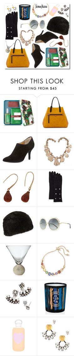 """""""The Holiday Wish List With Neiman Marcus: Contest Entry"""" by diydesign ❤ liked on Polyvore featuring Atelier Cologne, Neiman Marcus, Chloé, Eddie Borgo, DANNIJO, Diptyque and bkr"""