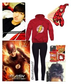 """⚡The Flash⚡"" by kookieforever97 ❤ liked on Polyvore featuring Casetify, MAC Cosmetics and Bling Jewelry"