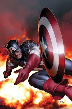 Steve McNiven - Captain America