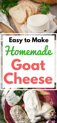 Making Chevre, the perfect beginner's cheese. Easy to Make Homemade Goat Cheese Recipe, perfect to spread on bread or crackers.