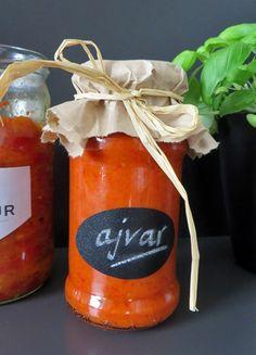 Domaći ajvar i pinđur Serbian Recipes, Projects To Try, Blog, Blogging