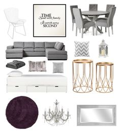 """""""Home Interior"""" by caaaazz ❤ liked on Polyvore featuring interior, interiors, interior design, home, home decor, interior decorating, Intelligent Design, CB2, Skagen and Bloomingville"""
