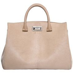 MAX MARA Suede Tote Bag ($1,835) ❤ liked on Polyvore featuring bags, handbags, tote bags, pink tote, clasp purse, pink tote bag, suede tote and suede leather handbags