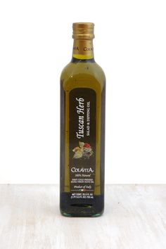 Tuscan Herb Salad and Dipping Extra Virgin Olive Oil 25.5 oz. glass https://www.pinterest.com/itmaiden/italian-mothers-day-meal/ @Colavita Extra Virgin Olive Oil @Colavita