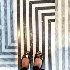 On instagram by kathdipaolo #homedesign #contratahotel (o) http://ift.tt/1lAQcuL seriously gorgeous tile! @annsacks @kellywearstler  #designhounds #blogtourkbis