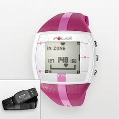 Polar FT4 Purple Heart Rate Monitor Watch - 90042864 ($98) ❤ liked on Polyvore