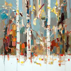 """Josef Kote """"Expressions"""". Acrylic on canvas."""