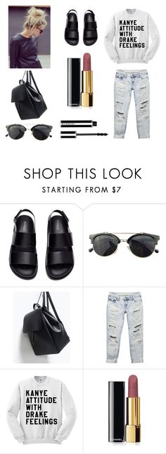 """""""Untitled #5"""" by k-chic on Polyvore featuring H&M, Chicnova Fashion, Zara, Wet Seal, Chanel and Givenchy"""