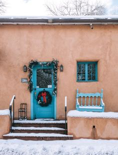 Warm Up in the Southwest: Why You Should Visit Santa Fe in the Winter Sante Fe New Mexico, New Mexico Road Trip, Chocolate House, Visit Santa, New Mexican, Travel Bugs, Winter Travel, Fes, Santa Fe