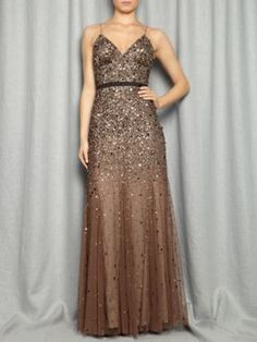 beautiful beaded gown  stunning !
