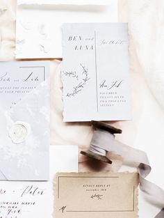 As Ever Photography / Grey Likes Weddings / Calligraphy / Hand lettered