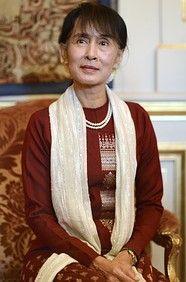 Aung San Suu Kyi  Chair and Parliamentarian, National League for Democracy, Burma  Age: 67  Residence: Yangon, Burma  Country of Citizenship: Burma  Marital Status: Widowed  Children: 2