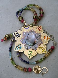 Chakra Necklace by SilviasCreations