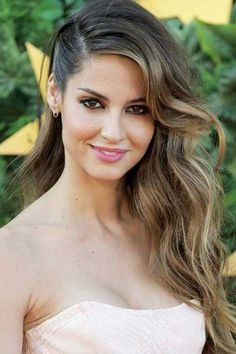 Best Hairstyle For Long Wavy Hair Side Hairstyles, Scarf Hairstyles, Wedding Hairstyles, Ladies Hairstyles, Bridesmaid Hairstyles, Hair Scarf Styles, Short Hair Styles, Black Tie Hairstyle, Anne Laure