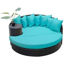 Perfect for snuggling on clear summer nights our circle design is ideal for furnishing balconies at patio parties and dinner events....