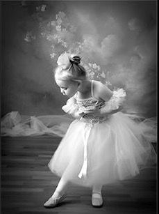 Magically beautiful ballerina and Reverance