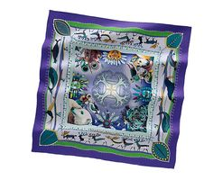 Hermes scarf 90: La Vie du Grand Nord