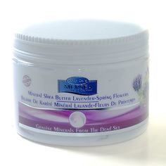 Dead Sea Mineral Shea Butter with Lavender & Spring Flowers Natural Skin, Natural Beauty, Dead Sea Minerals, Spring Flowers, Shea Butter, Fragrance, How Are You Feeling, Lavender, Flowers