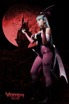 morrigan cosplay | Cosplay: Morrigan Aensland by VampBeauty