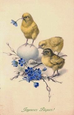 VK is the largest European social network with more than 100 million active users. Easter Art, Easter Crafts, Vintage Easter, Vintage Holiday, Decoupage, Vintage Cards, Vintage Postcards, Old Illustrations, Diy Ostern