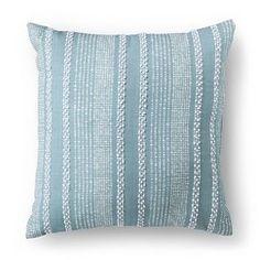 Threshold™ Textured Line Decorative Pillow - Blue