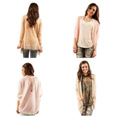 Stock up on spring cardi's at www.therusticmule.com