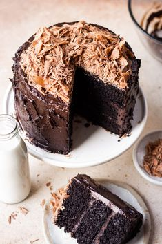 Try baking this yummy, moist and rich eggless chocolate cake from Shivesh Bhatia's recipe collection today! Best Eggless Chocolate Cake Recipe, Egg Free Chocolate Cake, Chocolate Fudge Frosting, Eggless Desserts, Eggless Recipes, Eggless Baking, Chocolate Flavors, Baking Recipes, Dessert Recipes