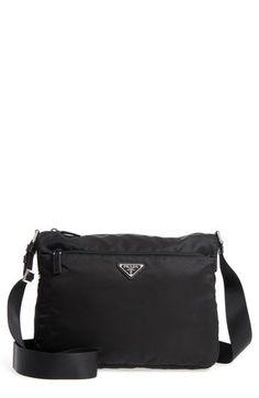 f6395cf2c754 New Prada Large Nylon Crossbody Bag Women's Fashion Handbags. [$950]  allfashiondress Fashion is