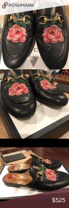 8368a45ad5f Gucci Princeton bloom floral. Gucci Princeton bloom floral Gucci mules  Gucci Shoes Mules   Clogs. Irene Espiritu · My Posh Closet