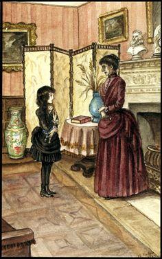 tasha tudor illustrations | Tasha Tudor illustrator - A Little Princess