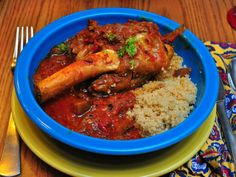 Pressure Cooker Persian Lamb Shanks with Eggplant and Tomatoes (Khoresht Bademjan) - Dad Cooks Dinner