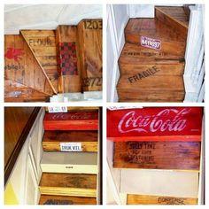 ideas diy para decorar las escaleras