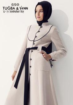 . Turkish Hijab Style, Turkish Fashion, Islamic Fashion, Abaya Fashion, Modest Fashion, Fashion Outfits, Moslem Fashion, Muslim Women Fashion, Muslim Dress