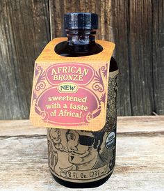 8oz - Fire Cider African Bronze - Apple Cider Vinegar & Honey Tonic
