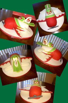"""Disney Planes ✈ """"El Chupacabra"""" cake!"""