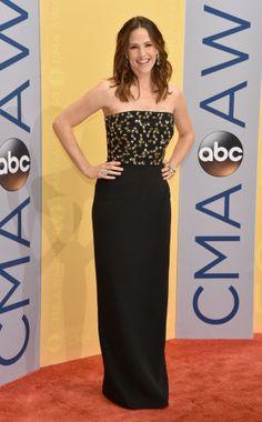 Jennifer Garner at the 2016 Country Music Awards.