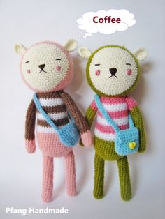 Hiro and Mira  The sleepy bunny Large by Pfang on Etsy, $38.80