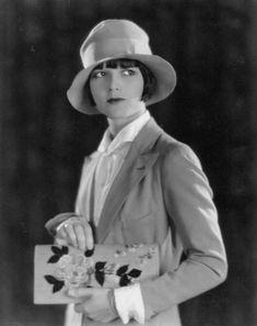 Portrait of Louise Brooks, 1920's
