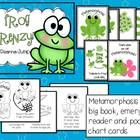 Frog Frenzy Math and Literacy Fun!  Nonfiction unit Aligned with Common Core