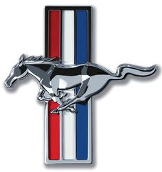 Put a pony in your garage with this classic Ford Mustang Emblem Tin Sign. Ideal for any garage that houses a classic 'stang! Ford Mustang V6, Mustang Club, Mustang Girl, Restomod Mustang, 2006 Mustang, Shelby Mustang, Mustang Boss, Mustang Fastback, Car Ford
