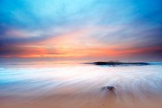 Calm Beach Wallpaper Wall Mural | MuralsWallpaper.co.uk